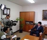 千葉テレビ「ビジネススタイル」にて社長インタビューが放映されます