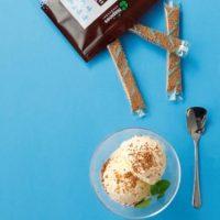 アイスクリームと黒砂糖