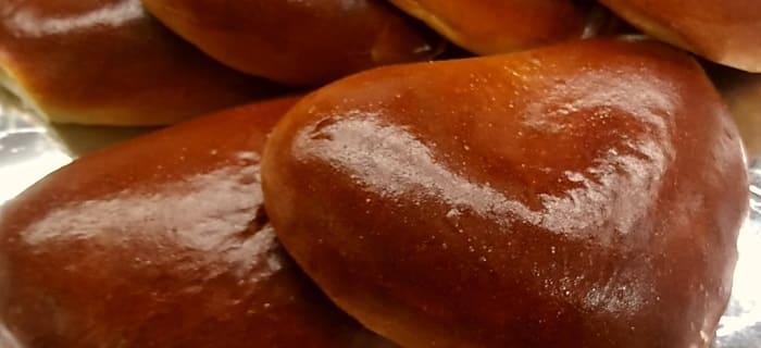 焦がし砂糖のほろにがクリームパン