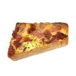 厚切りピザトースト