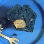 竹炭と甘栗のパウンドケーキ