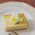 セロリのチーズケーキ