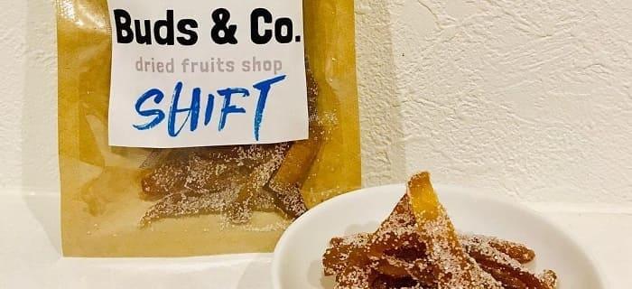Buds & Co. SHIFT(柚子ピールの砂糖漬け)