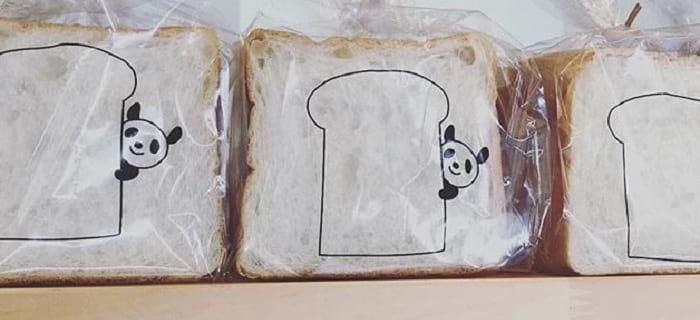 ぱんだよりノドカ 食パン