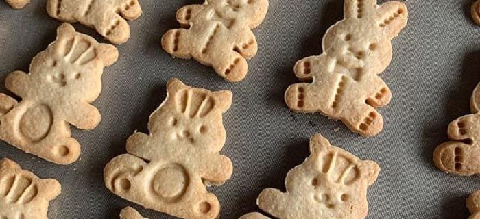 米粉と卵のおやつ工房 i ppu ku 米粉の動物クッキー