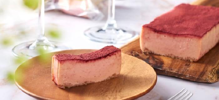 JUNMICCHI ロビオーラとビーツのチーズケーキ