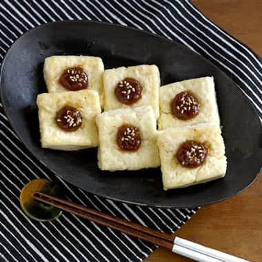 豆腐の田楽ステーキ