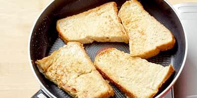 からだにやさしいフレンチトースト 調理工程