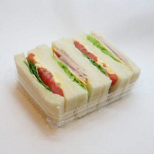 サンドイッチのランチBOX